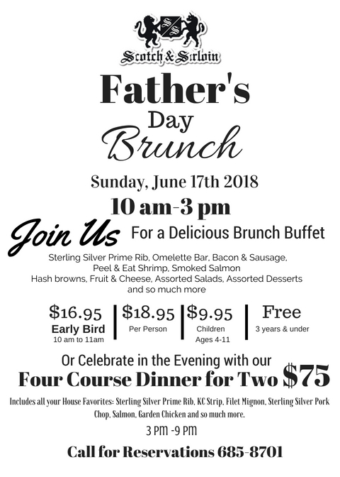 Fathers Day Brunch SS