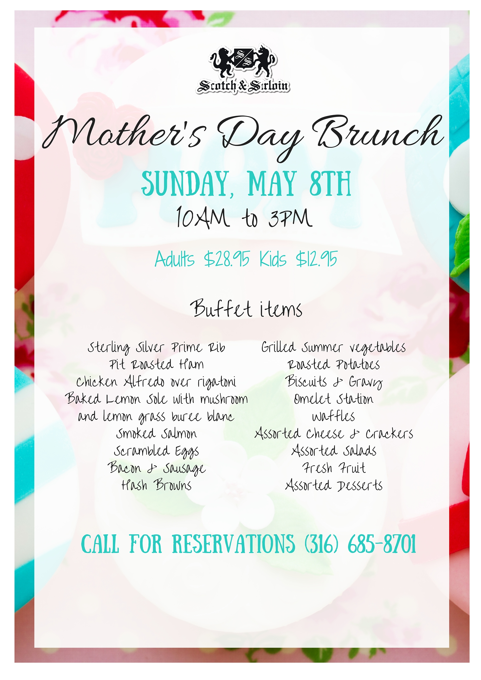 SS Mothers Day Brunch Poster