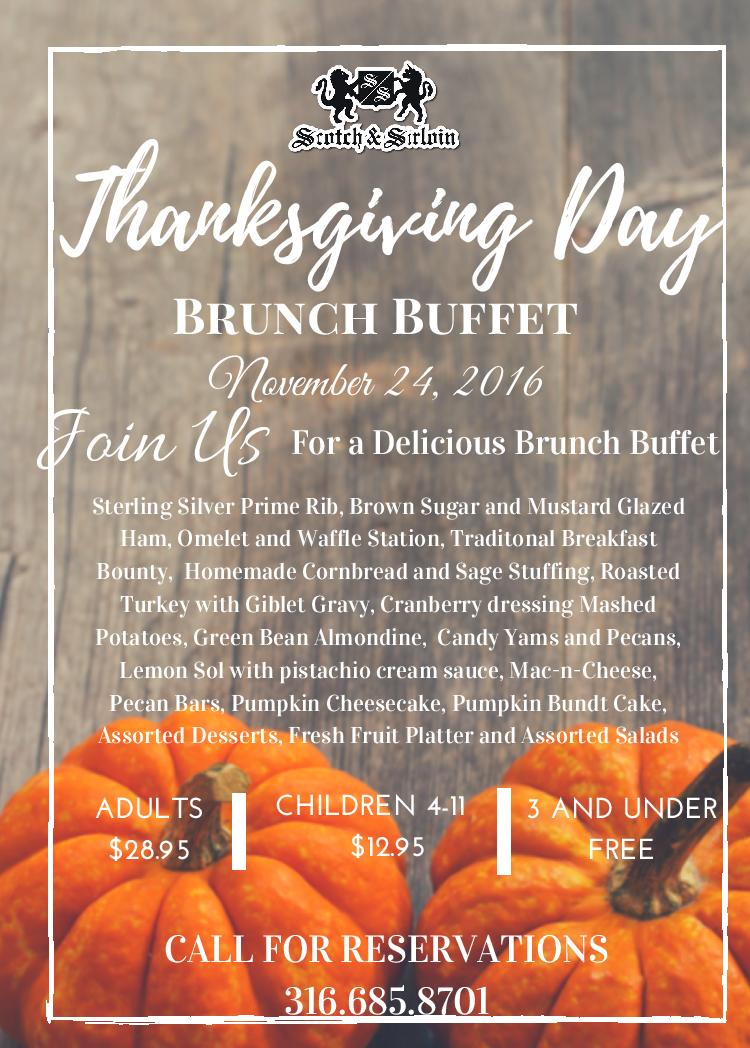 Thanksgiving day buffet page 001